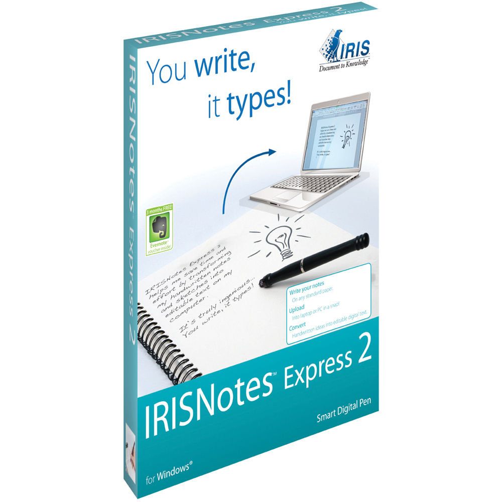 IRISNotes Express 2 Smart Digital Pen
